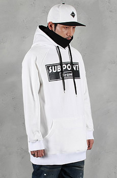 15/16 SUBPOINT BASIC HOODIE(White)